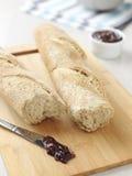 2 багета свежих хлеба Стоковая Фотография RF