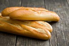 багеты французские стоковое изображение