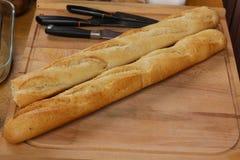 Багет французского хлеба Стоковые Фотографии RF