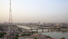 Багдад на ноче стоковые фотографии rf