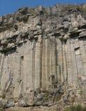 базальтовая стена Стоковое Изображение RF