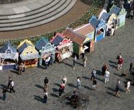 базарная площадь Стоковые Фотографии RF
