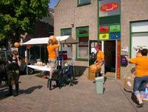 Базар в Moordrecht для KIKA Стоковые Фотографии RF