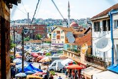 Базар в Pristina Стоковые Фото