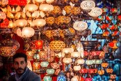 базар грандиозный istanbul стоковые фото