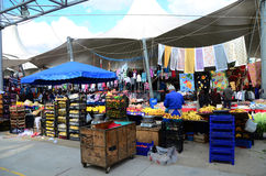 базар открытый Стоковое Изображение