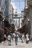 Базар Beyoglu Стамбул Турция Balik Стоковое Изображение