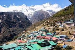 Базар Namche Гималаи Непал стоковые фото