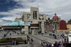 Базилика нашей дамы de Guadalupe стоковые изображения