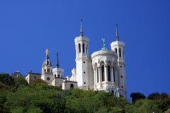 Базилика Нотр-Дам de Fourvière Стоковое Изображение