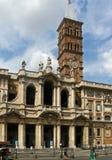 Базилика Рим Santa Maria Maggiore папская стоковое фото