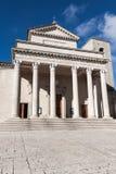 Базилика Сан-Марино стоковая фотография rf