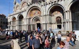 Базилика Сан Marco в Венеции, Италии стоковое фото
