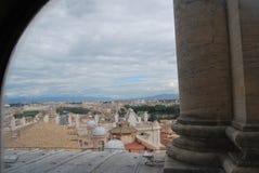 Базилика Сан Pietro в городе Ватикана в Риме Стоковое Фото