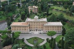 Базилика Сан Pietro в городе Ватикана в Риме Стоковая Фотография