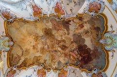 Базилика 14 святых хелперов, Германия Стоковые Фотографии RF
