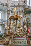Базилика 14 святых хелперов, Германия Стоковое Изображение
