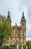 Базилика 14 святых хелперов, Германия Стоковая Фотография