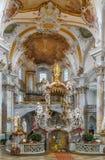 Базилика 14 святых хелперов, Германия Стоковое Фото
