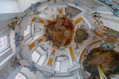 Базилика 14 святых хелперов, Германия Стоковое Изображение RF