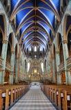 Базилика собора Нотре Даме, Оттава Стоковые Изображения RF