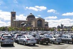 Базилика Aparecida - национальная святыня стоковые фото