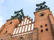 Базилика Archcathedral St Peter и St Paul в Poznan Стоковое фото RF
