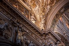базилика di maggiore maria santa стоковая фотография