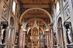 Базилика Lateran, Рим стоковые изображения rf