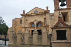 Базилика Menor de Santa Maria собора, Primada Америка santo domingo Доминиканский Республика стоковые изображения
