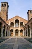 базилика mil ambrogio sant Стоковое Изображение