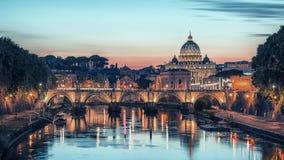 Базилика ` s St Peter в Риме Стоковые Фотографии RF