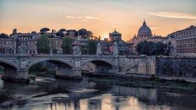 Базилика ` s St Peter в Риме Стоковые Изображения