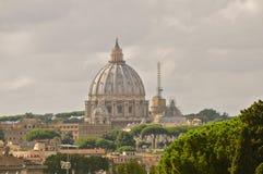 Базилика ` s St Peter, Рим стоковые изображения