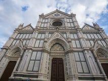 Базилика Santa Croce в исторических di Firenze центра города o Флоренса Santa Croce Стоковое Изображение
