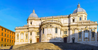 Базилика Santa Maria Maggiore, Roma стоковые изображения rf
