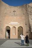 Базилика St Mary ангелов и мученики в Рим стоковое фото