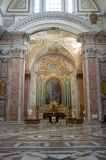 Базилика St Mary ангелов и мученики в Рим стоковое фото rf