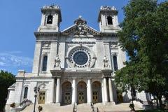 Базилика St Mary в Миннеаполисе, Минесоте стоковое изображение rf