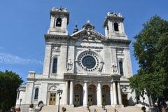 Базилика St Mary в Миннеаполисе, Минесоте Стоковая Фотография RF