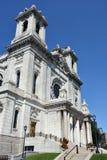 Базилика St Mary в Миннеаполисе, Минесоте Стоковые Изображения
