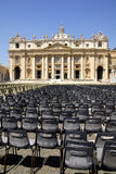 Базилика St Peter, Рим, Италия Стоковое Фото