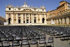 Базилика St Peter, Рим, Италия Стоковые Фотографии RF