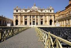 Базилика St Peter, Рим, Италия Стоковые Изображения