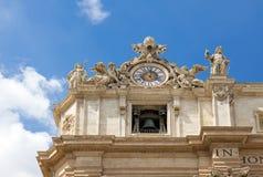 Базилика St Peter, церков в Ватикане, Риме Стоковые Изображения RF