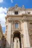 Базилика St Peter, церков в Ватикане, Риме Стоковое Изображение RF