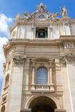Базилика St Peter, церков в Ватикане, Риме Стоковое фото RF