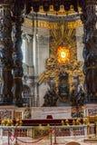 Базилика St Peter, церков в Ватикане, Риме Стоковое Изображение