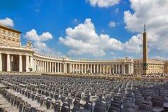 Базилика St Peter, церков в государстве Ватикан Стоковая Фотография RF