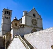 базилики d francesco san assisi стоковое изображение